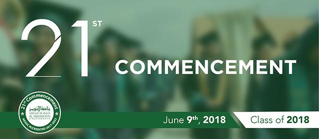 AUI Celebrates its 21st Commencement