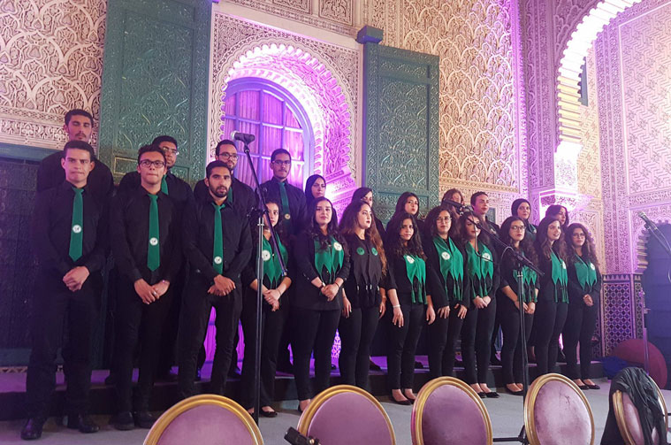 Al Akhawayn Voices United Choir (VUC) at SAWT International Festival