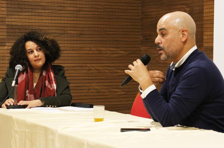 Talk by Moroccan journalist  Ridouane Erramdani about: Radio interviewing & Media Convergence in Morocco