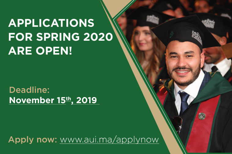 Applications for Spring 2020 are Open!