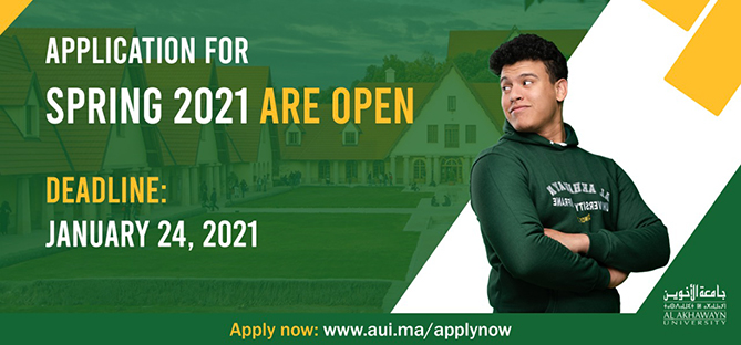 Applications for Spring 2021 are Now Open!