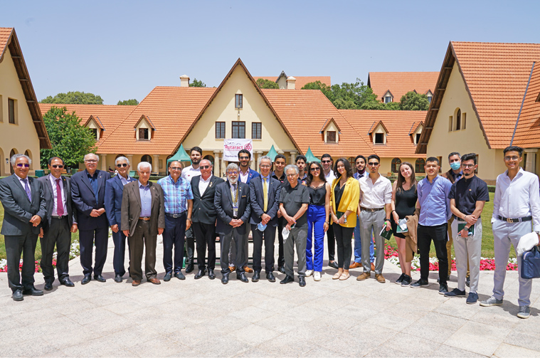 Visit of Rotarians led by the Governor of the Rotary Club of District 9010 bringing together the 4 Maghreb countries
